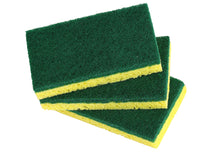Load image into Gallery viewer, Heavy Duty Cellulose Scrub Sponge (12 X 7 X 2 cm -3-pack.)