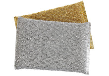 Load image into Gallery viewer, Shiny Sponge - Silver and Gold (2-pack)