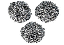 Load image into Gallery viewer, Stainless Steel Scrubber (3-pack)