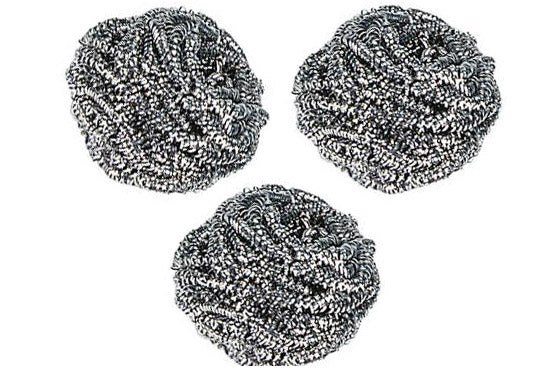 Stainless Steel Scrubber (3-pack)