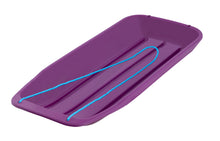 "Load image into Gallery viewer, Kids Snow Sled, 48"" (Purple)"