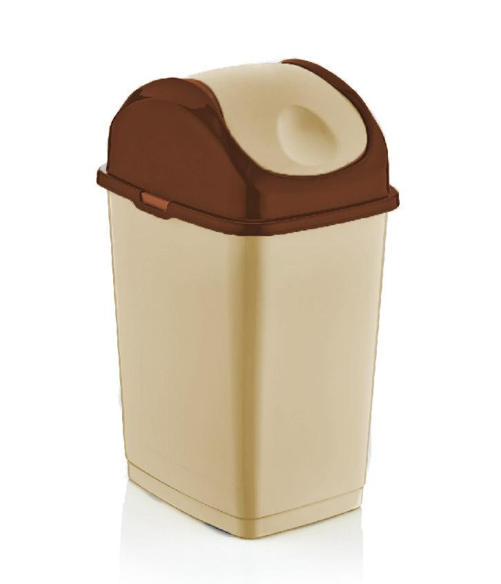 Swing-Top Trash Can, 37 Qt.