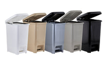 Load image into Gallery viewer, Slim Pedal Trash Can, 10 Qt.