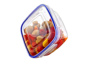 Square Thin Sealed Containers (set of  3)
