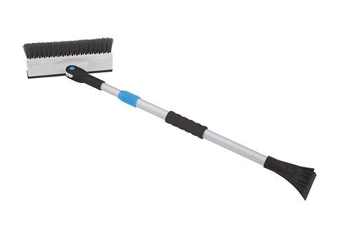Extendable Snow Brush with Ice Scraper and Squeegee