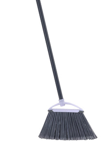 Angle Broom with Rubber Edge