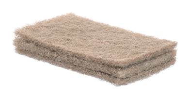 Natural Sisal Scrubbing Pads, 3 Pack