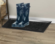 "Load image into Gallery viewer, 34"" Decorative Rubber Boot & Shoe Tray"