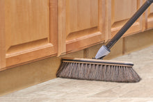 Load image into Gallery viewer, Premium Horsehair Broom with Beach Wood Brush Head and Multi Position Handle