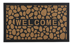 Stone Coir Welcome Doormat
