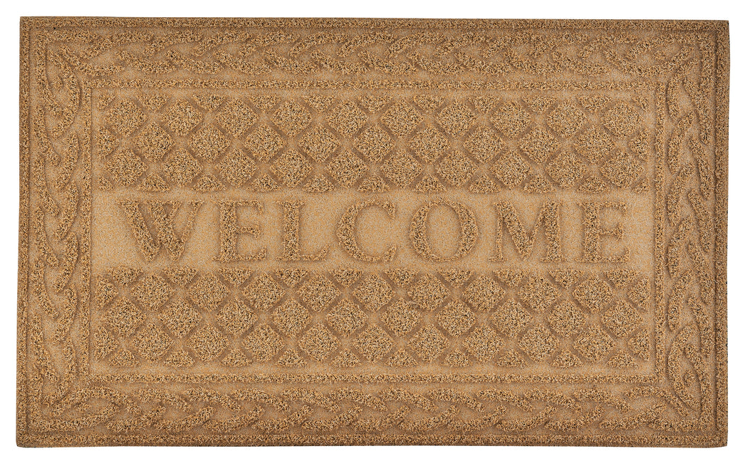 Lattice Coir Welcome Doormat