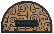 Load image into Gallery viewer, Ornate Scroll Coir Doormat