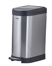 Load image into Gallery viewer, Stainless Steel Trash Can, 10.6 Gallon