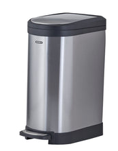 Load image into Gallery viewer, Stainless Steel Trash Can, 2.6 Gallon