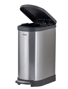 Stainless Steel Trash Can, 2.6 Gallon
