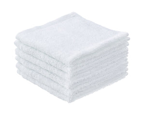 Cotton Cloths White 6 Pack 12x12""