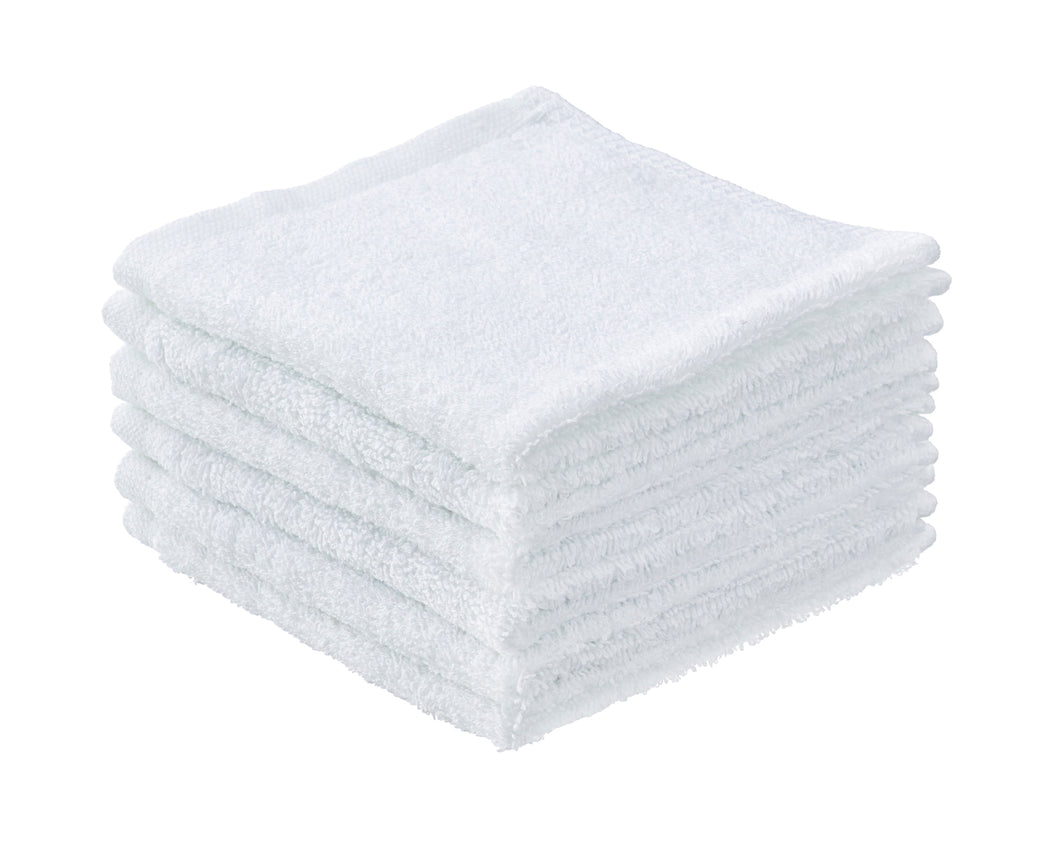 Cotton Cloths White 6 Pack 12x12