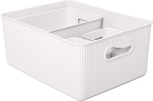 Acanalada Storage Bin Set of 4