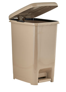 Slim Pedal Trash Can, 64 Qt.
