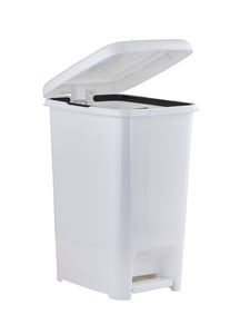 Slim Pedal Trash Can, 26 Qt.