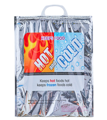 Hot and Cold Reusable Insulated Bag