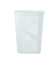 Load image into Gallery viewer, 60-liter Dotted Laundry Hamper, with Cutout Handles,
