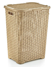Load image into Gallery viewer, Laundry Hamper Wicker Style
