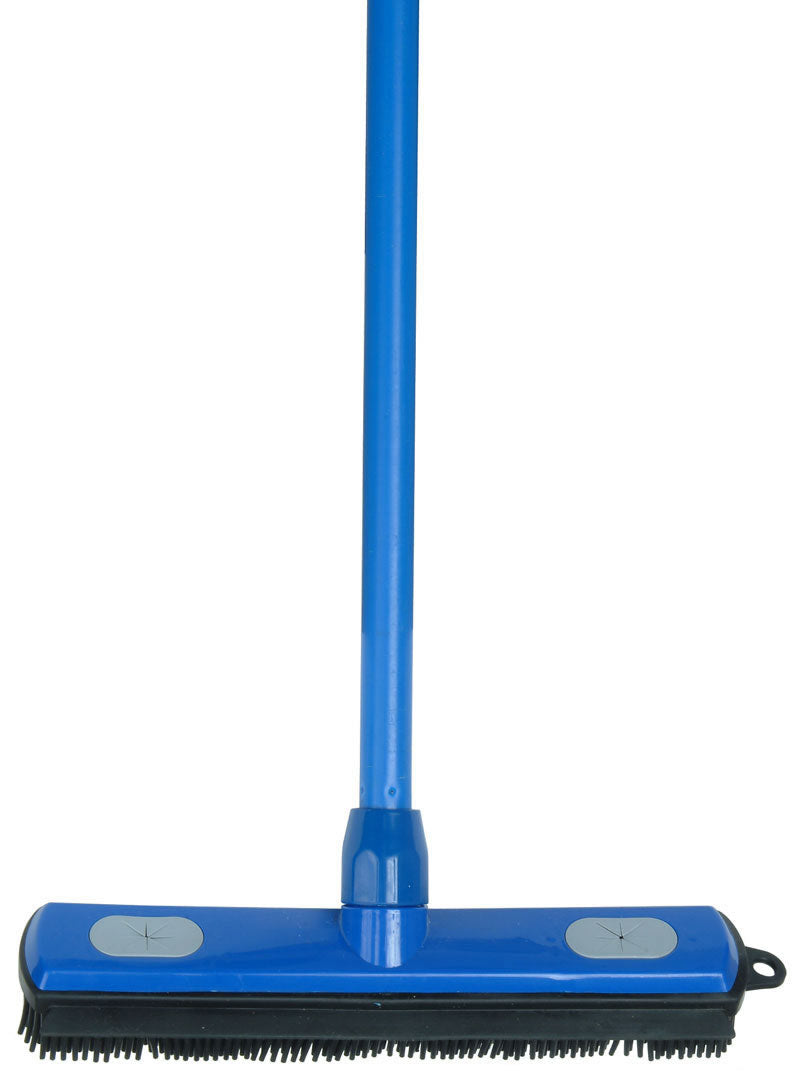 Rubber Broom and Squeegee