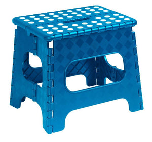 Folding Step Stool with Anti-Slip Surface  11""