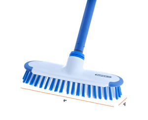 "Deck Scrub Brush with 54"" Long Handle"