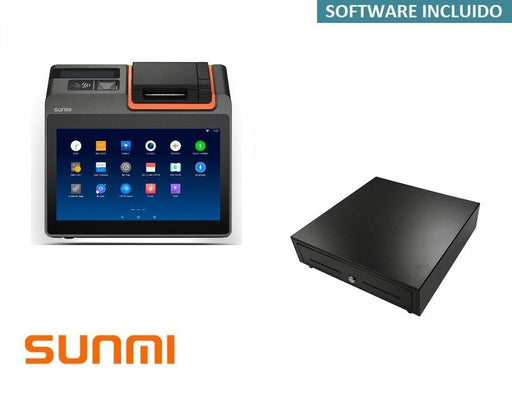 Packs TPV Sunmi T2 Mini para Restaurantes Software Siodoird