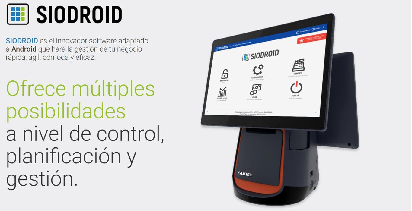 Software siodroid server + 3 Licencias