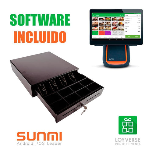 Packs TPV SUNMI  T2 Con Software Loyverse Hostelería