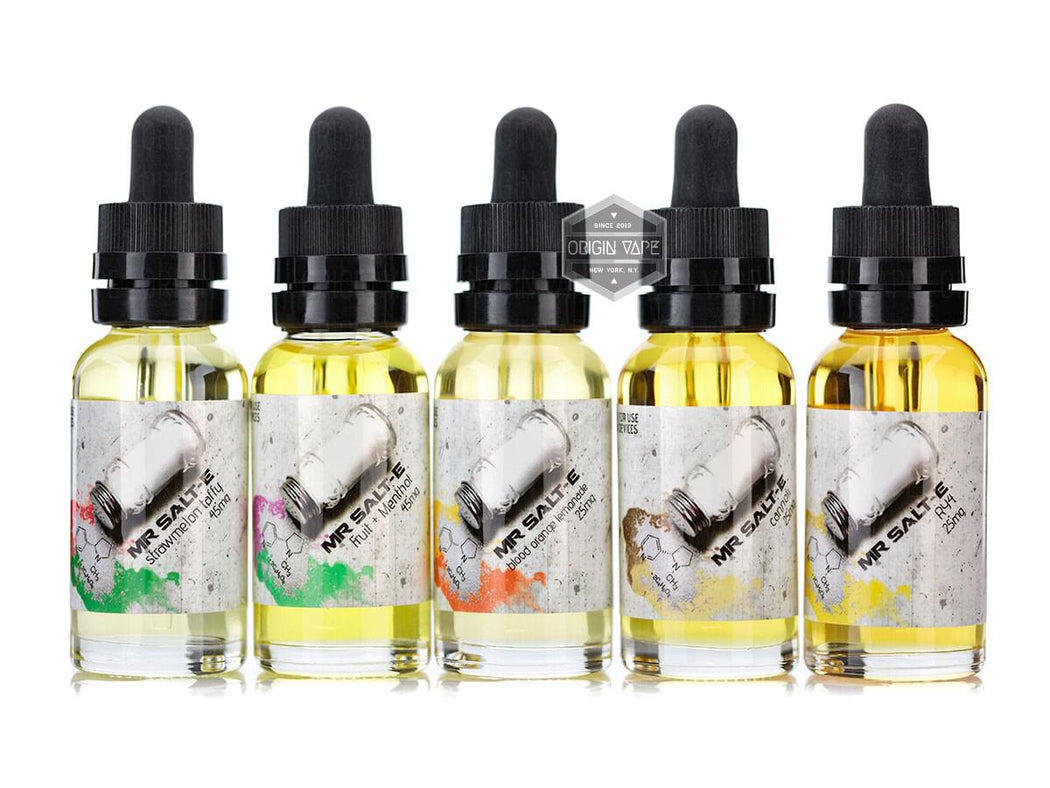 Mr. Salt-E Strawberry Custard E-liquid