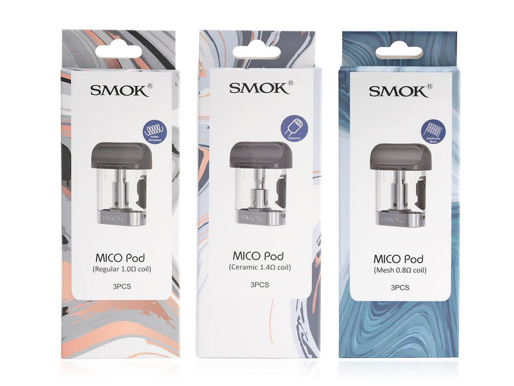 Smok Mico Replacement Coil Head Pods