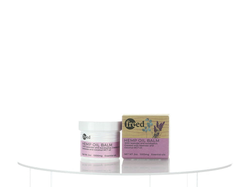 Freed CBD Hemp Oil Balm