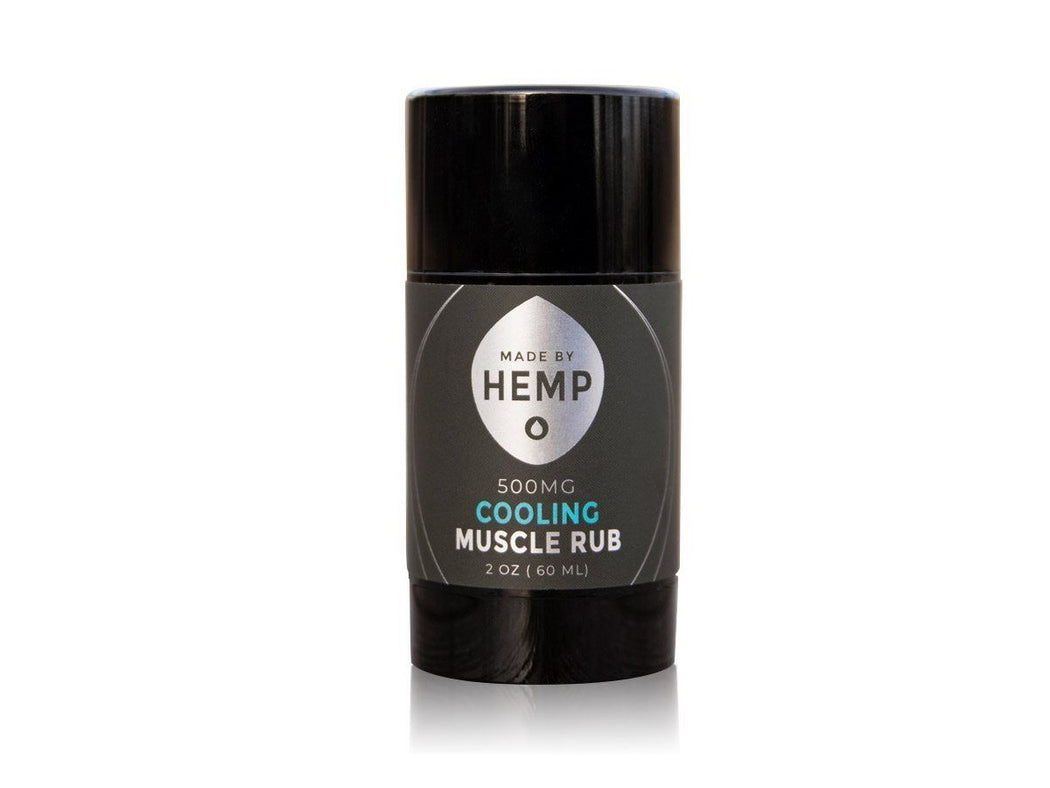 Made By Hemp CBD Cooling Muscle Rub - 500MG