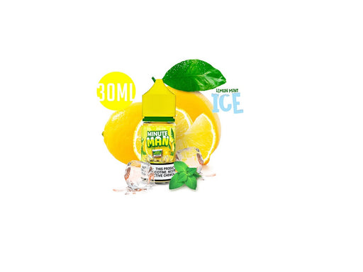 Minute Man Ice Lemon Mint Salts