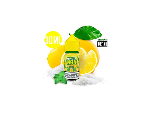 Minute Man Lemon Mint Salts