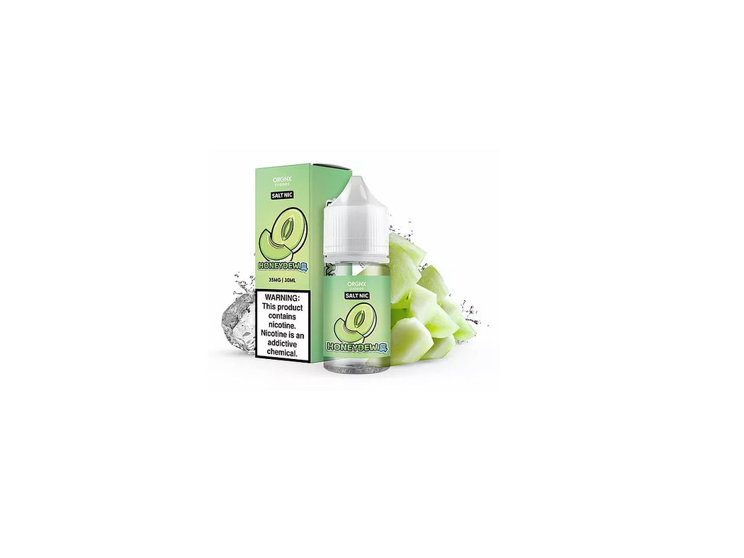 Orgnx Honeydew Ice Salts
