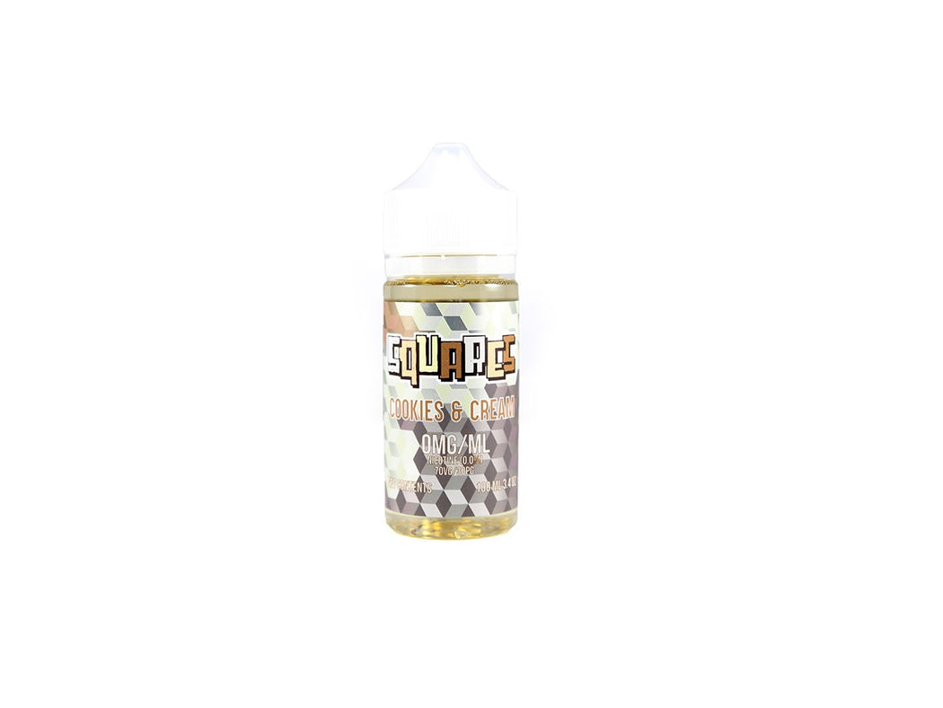Squares Cookies and Cream E-Liquid