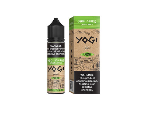 Yogi Farms Green Apple E-Liquid
