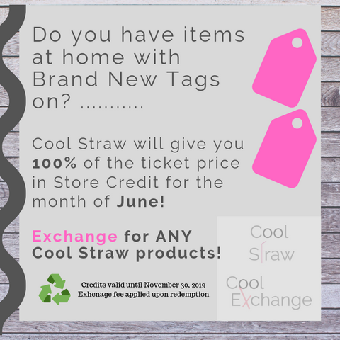 908d6d90e1772e Brand New With Tag - June Promotion! – Cool Straw