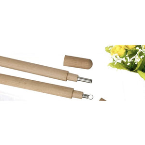 Stainless Steel Straw - Bamboo Tube - Cool Straw