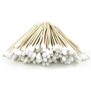 Cotton Swabs - Box of 200 - Cool Straw