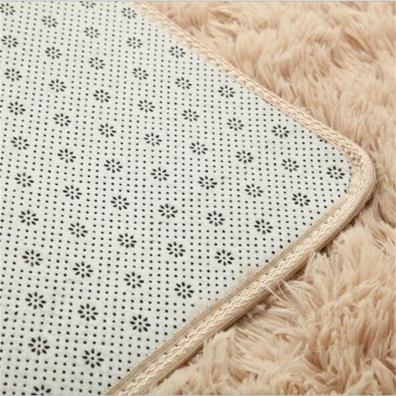 Fiber Soft Carpets For Living Room Bedroom Kid Room Rugs Shaggy Solid Delicate Style-carpets-Eills Collection-Eills Collection