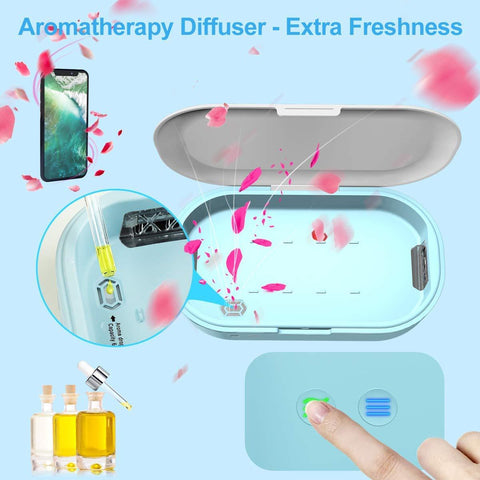 UV Lights Cell Phone Sanitizer Sterilizer Cleaner
