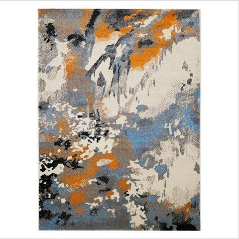 Image of Abstract Style Soft Carpets For Living Room-Eills Collection-Eills Collection