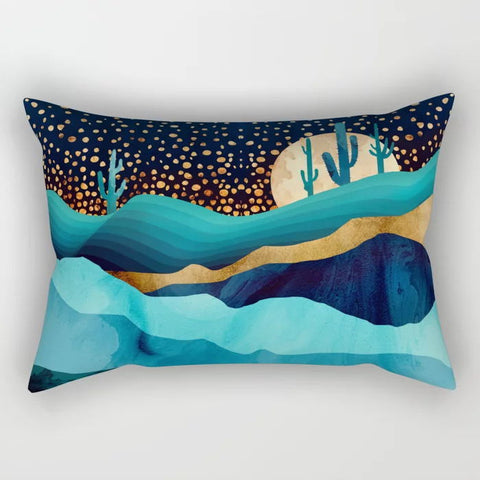 Image of Indigo Mountains Pillow Sham