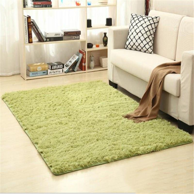 Fiber Soft Carpets For Living Room Bedroom Kid Room Rugs Shaggy Solid Delicate Style-carpets-Eills Collection-11-200X300cm-Eills Collection